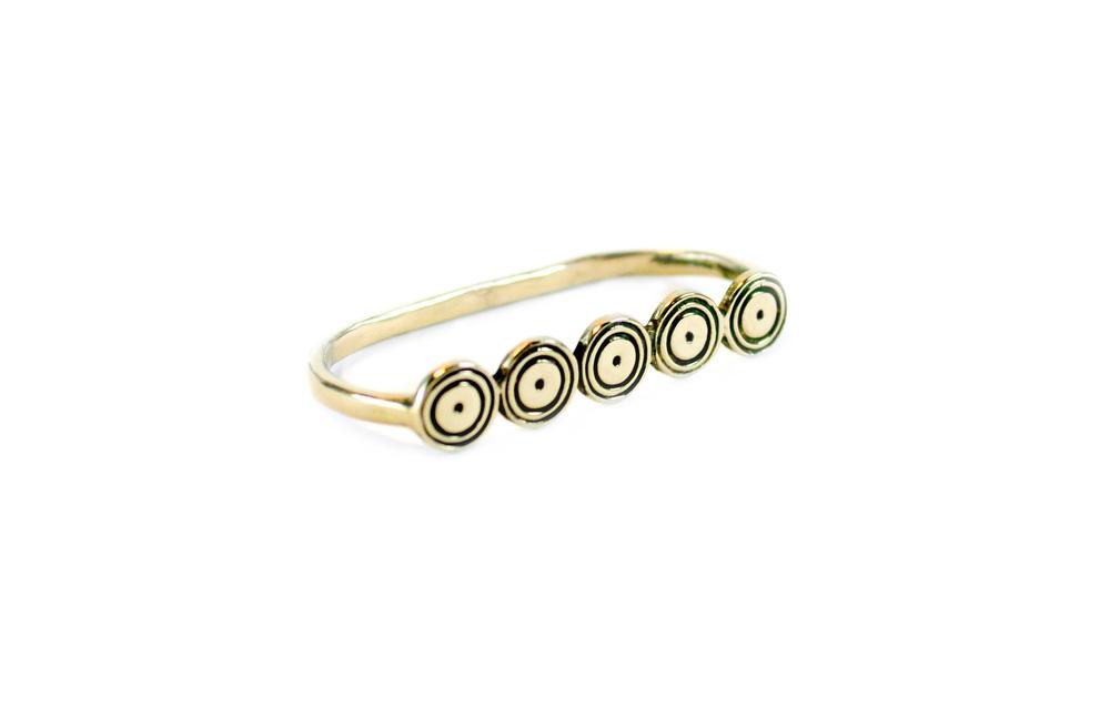 Sisters 2-Finger Ring