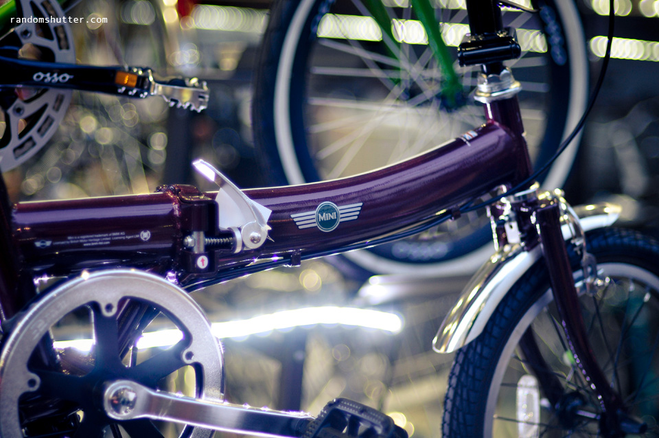 Foldable 'mini' bicycles
