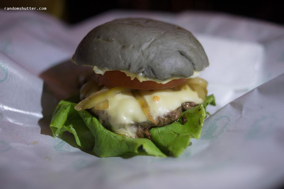 Pork burger RM 6.90