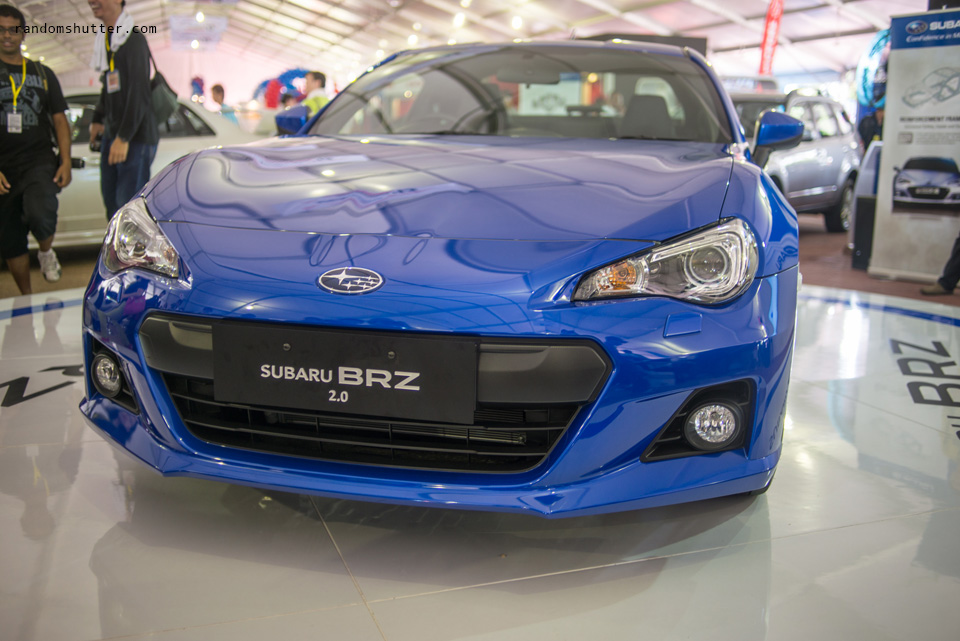 Subaru BRZ launch event