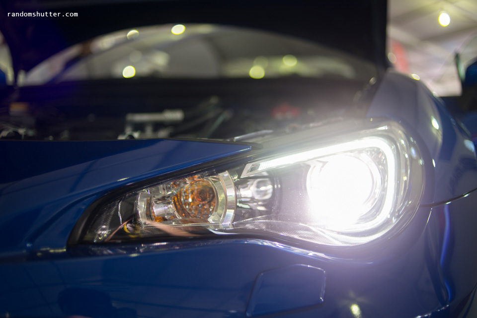 BRZ headlamp~ yummy