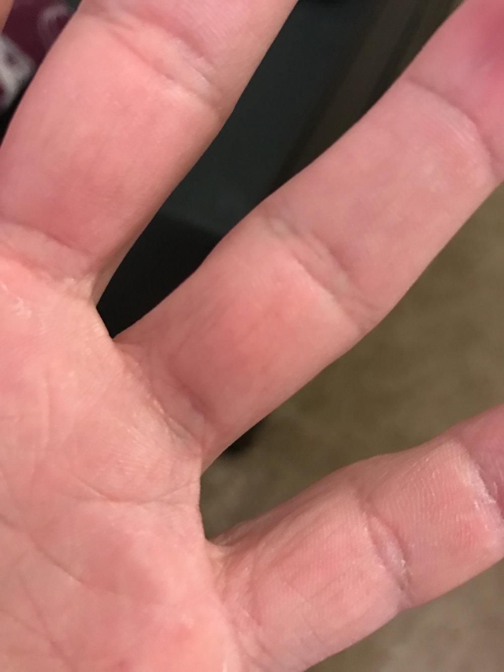 My left hand.