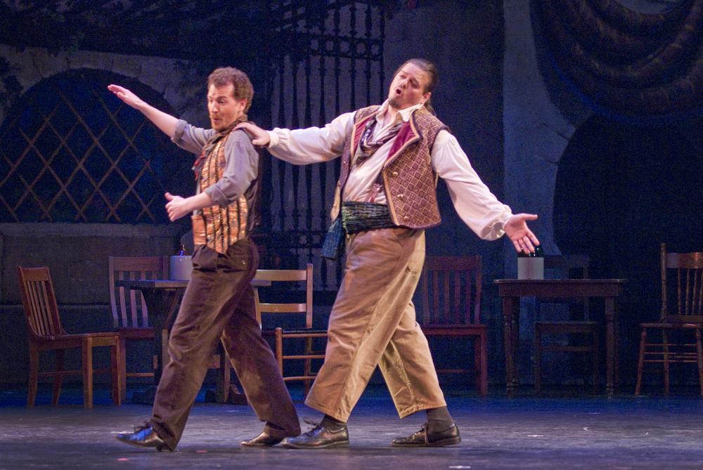 Dancairo in  Carmen , Eugene Opera © 2011 Cliff Coles