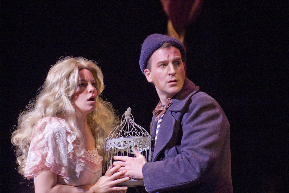 Anthony in Sweeney Todd with Eugene Opera © 2015 Cliff Coles