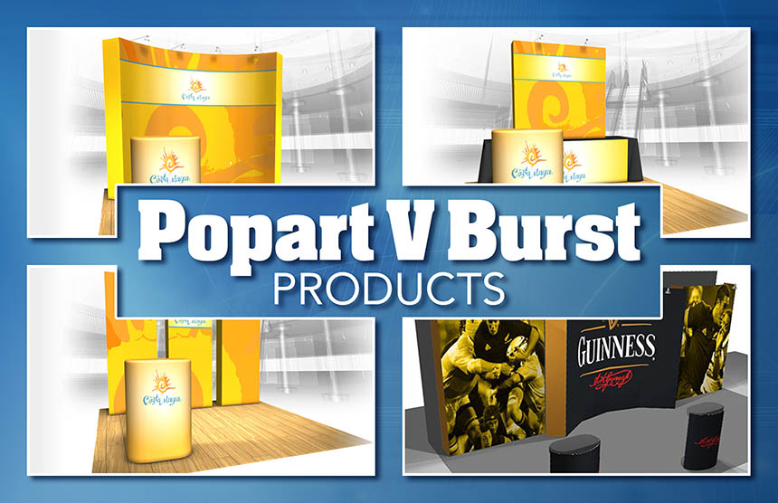 Popart V Burst Exhibits