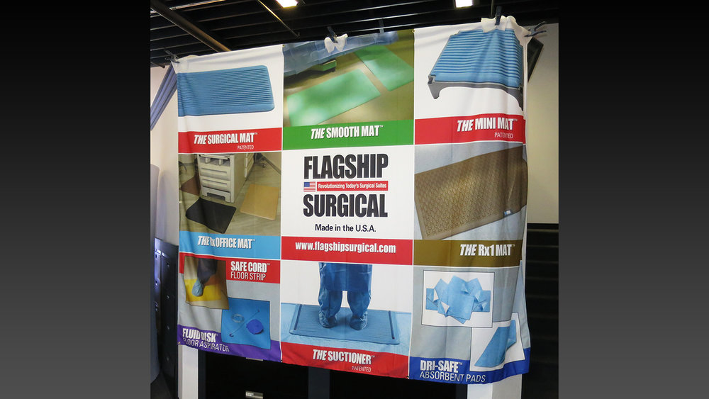 Pipe & Drape Banner Graphic