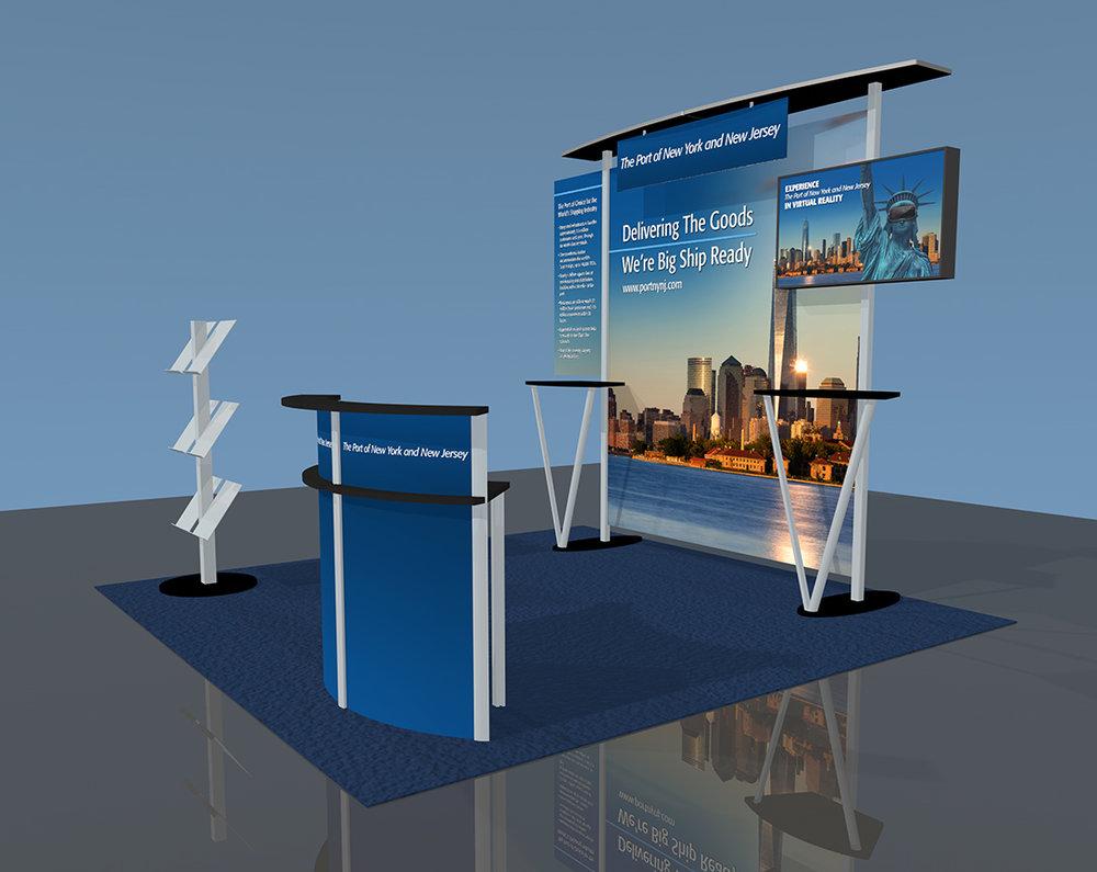 Trade Show Booth Graphic Design : Graphic design u2014 trade show booths displays & exhibits design