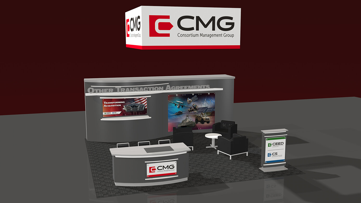 Graphic Design — Trade Show Booths, Displays & Exhibits