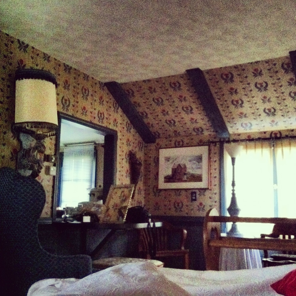 The Blue Heron B&B-view from bed!