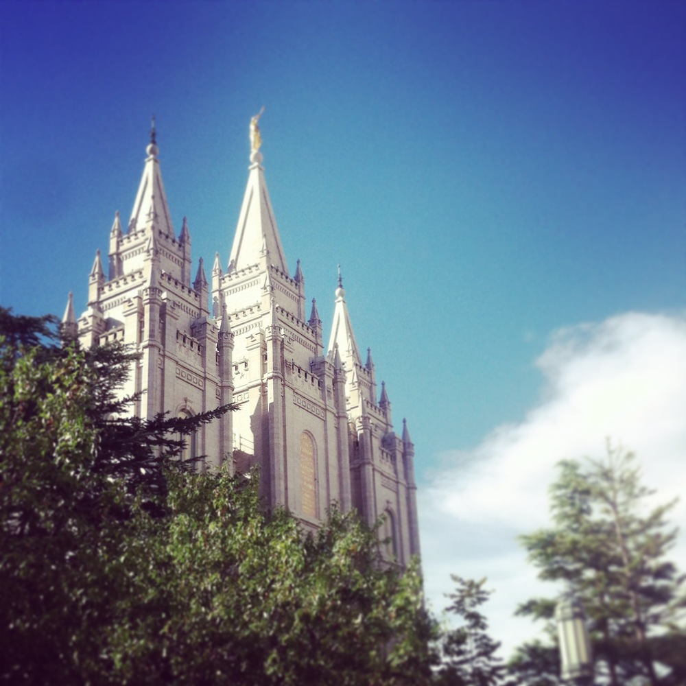 Here's Salt Lake Temple again; I actually went to see it twice. It's beauty was far too much to justify only one visit.