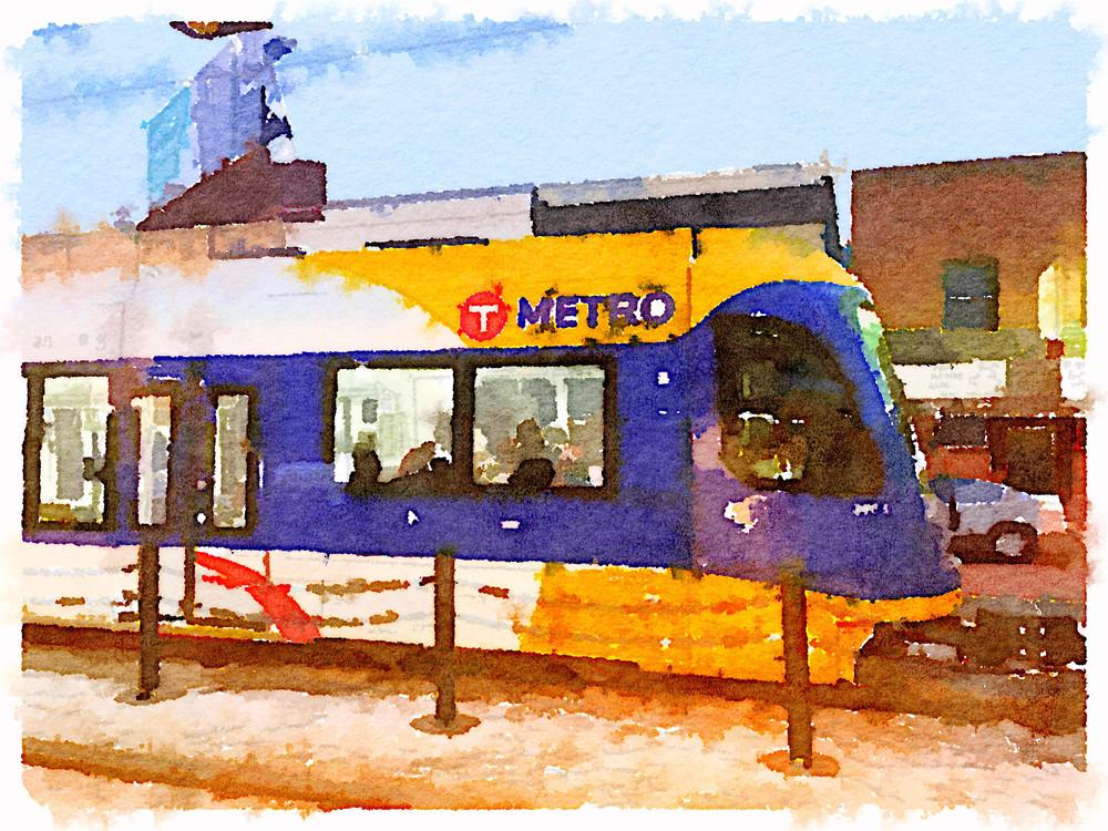 Watercolors: MetroTransit