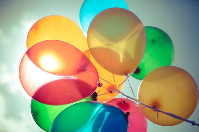 Real Birthday Balloons Real Balloons Photo