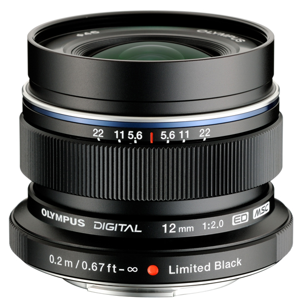 The 12mm f/2 features a focus clutch which allows you to quickly put the lens and camera into manual focus mode.