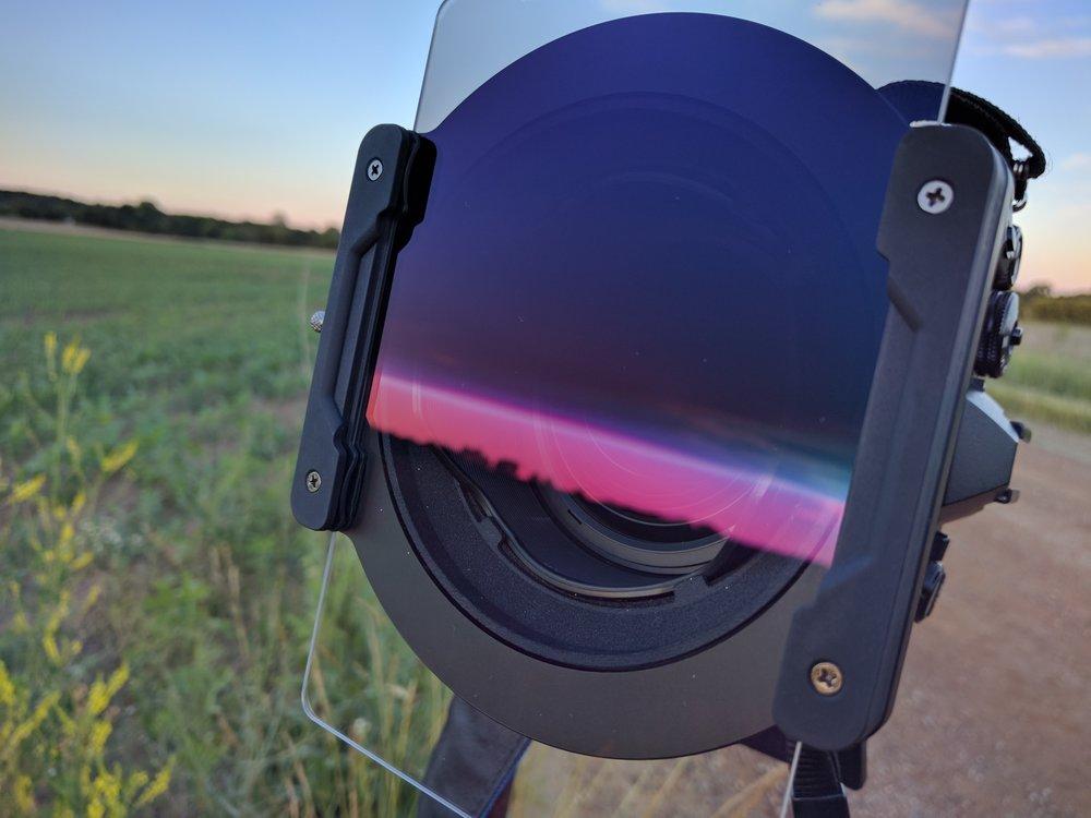 mZuiko 7-14mm f/2.8 PRO w/ NiSi Reverse Grad ND mounted.