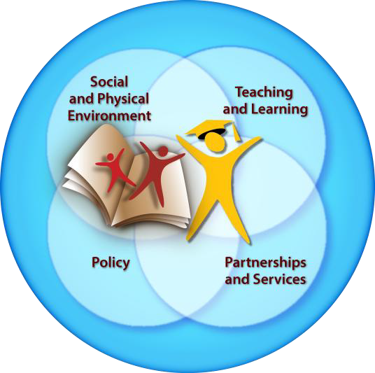 - The evaluation and analysis in schools is guided by the Joint Consortium for School Health's Comprehensive School Health Framework www.jcsh-cces.ca
