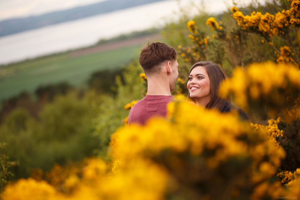 Hayley & David Beautiful Romantic Sunset Prewedding Engagement Shoot at Thurstaston on the Wirral 11.jpg