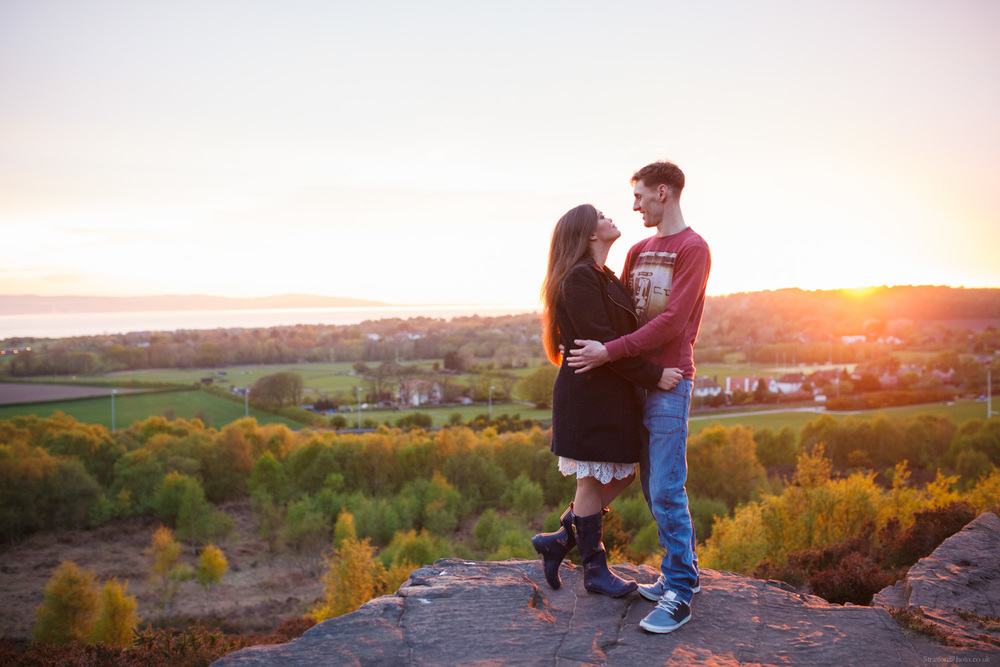 Hayley & David Beautiful Romantic Sunset Prewedding Engagement Shoot at Thurstaston on the Wirral 61.jpg