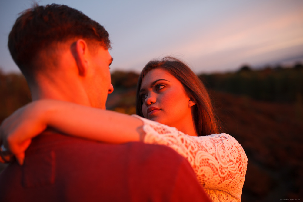 Hayley & David Beautiful Romantic Sunset Prewedding Engagement Shoot at Thurstaston on the Wirral 64.jpg
