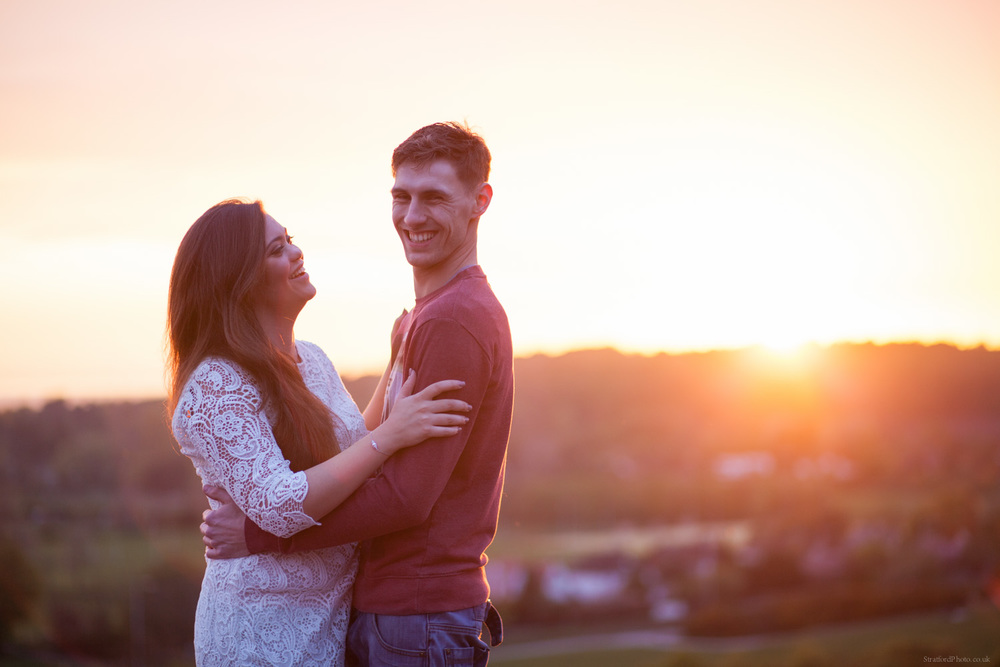 Hayley & David Beautiful Romantic Sunset Prewedding Engagement Shoot at Thurstaston on the Wirral 67.jpg