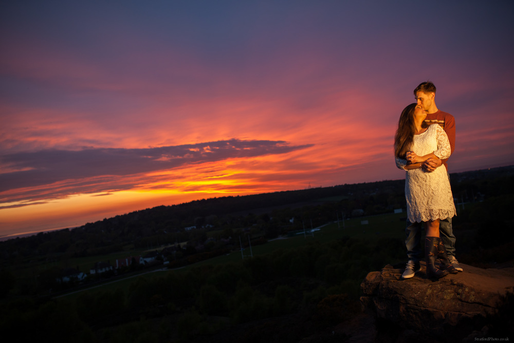 Hayley & David Beautiful Romantic Sunset Prewedding Engagement Shoot at Thurstaston on the Wirral 79.jpg