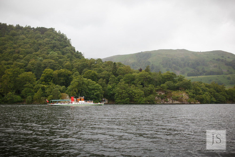 A steamer boat sails around Lake Ullswater.jpg
