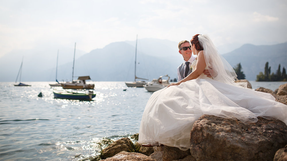 Wedding Couple in Malcesine Lake Garda.jpg