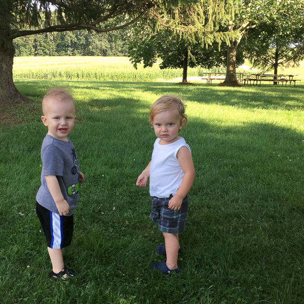 Cousins Jude and Rowan