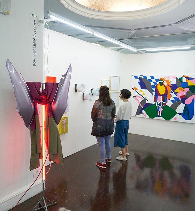 @feiraparte (SP) _ participo com trabalhos no stand E08 da @somagaleria @malumeyer ao  lado dos artistas:  @ale_mazzarolo , @carinaweidle , @signor_gi , @manopenalva , @joaogg  Curadoria @marinaramos .  Até este domingo (11/11) , stand E08  #feiraparte _ feira de arte contemporanea Rua Dr. Alberto C. De Melo Neto, 115 Jardim Paulistano, Salão Marc Chagall @hebraicasp , São Paulo – SP #artecontemporanea  #brazilianartist  #somagaleria  #contemporaryart  #artcollector  fotos @ffmelgarejo