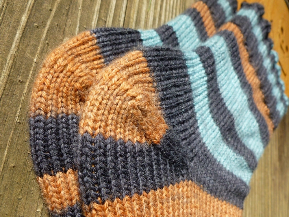 Tips & Tricks to take the guesswork out of knitting afterthought heels. | withwool.com