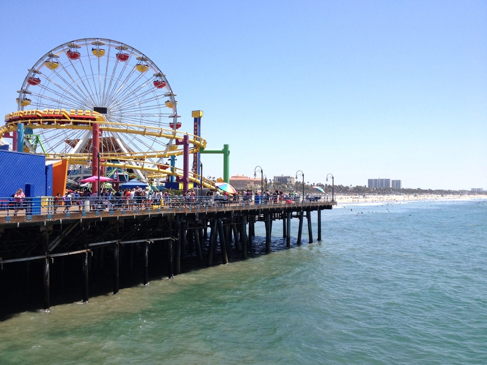 Finally walked along the Santa Monica Pier.