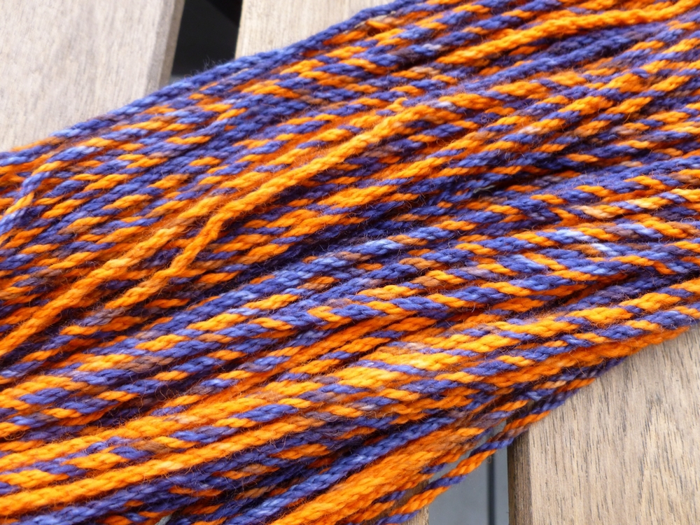 How To Chain Ply Variegated Yarn To Create Marled Yarn | withwool.com