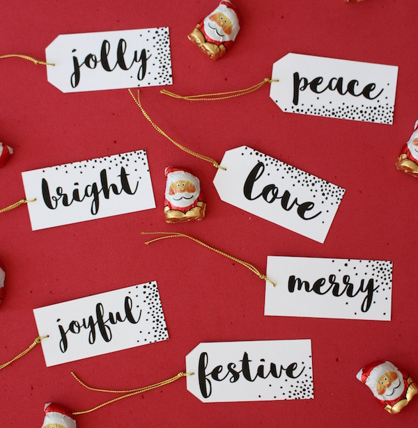 Lovely, and simple gift tags for puresweetjoy.com