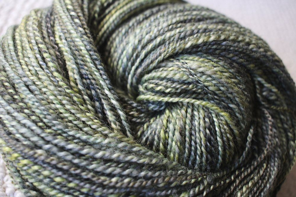 Swamp Thing Handspun - Superwash BFL | withwool.com