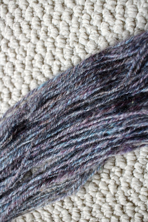 How spinning a sample before starting a big project made me a happy spinner and got me the handspun I wanted. | withwool.com