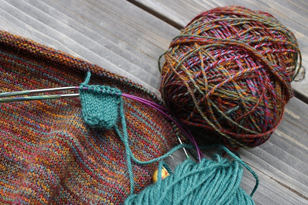 #The100DayProject got me spinning yarn again, and brought back my creative mojo! | withwool.com
