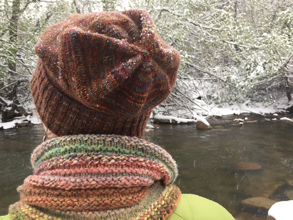 How the Sockhead Hat pattern showed me the greatness of hats knit from fingering weight yarn. | withwool.com