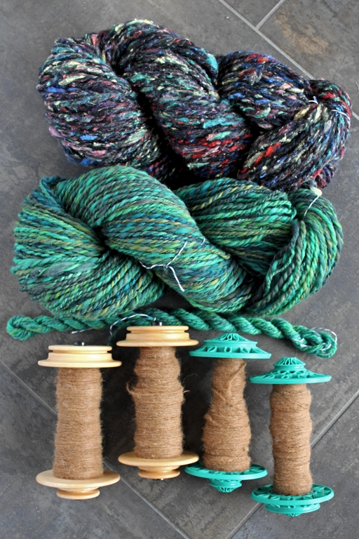 12.2 ounces, 418 yards, and 3 weeks of awesome yarn! I had a blast spinning along with Tour de Fleece this year! | withwool.com