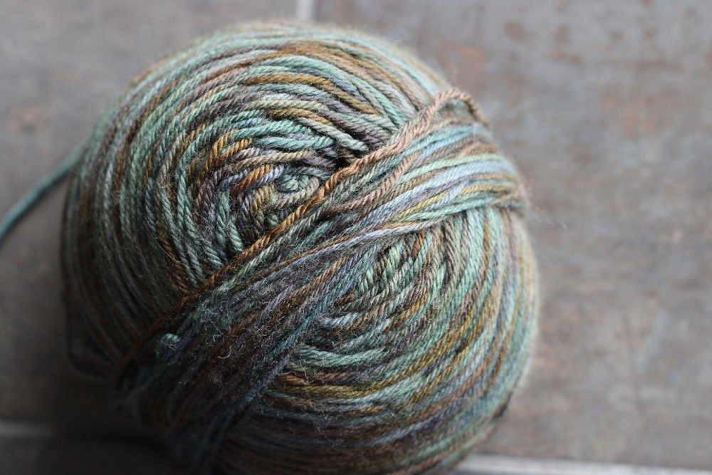 After spending so much time spinning yarn, I'm thrilled to be knitting with it again! | withwool.com