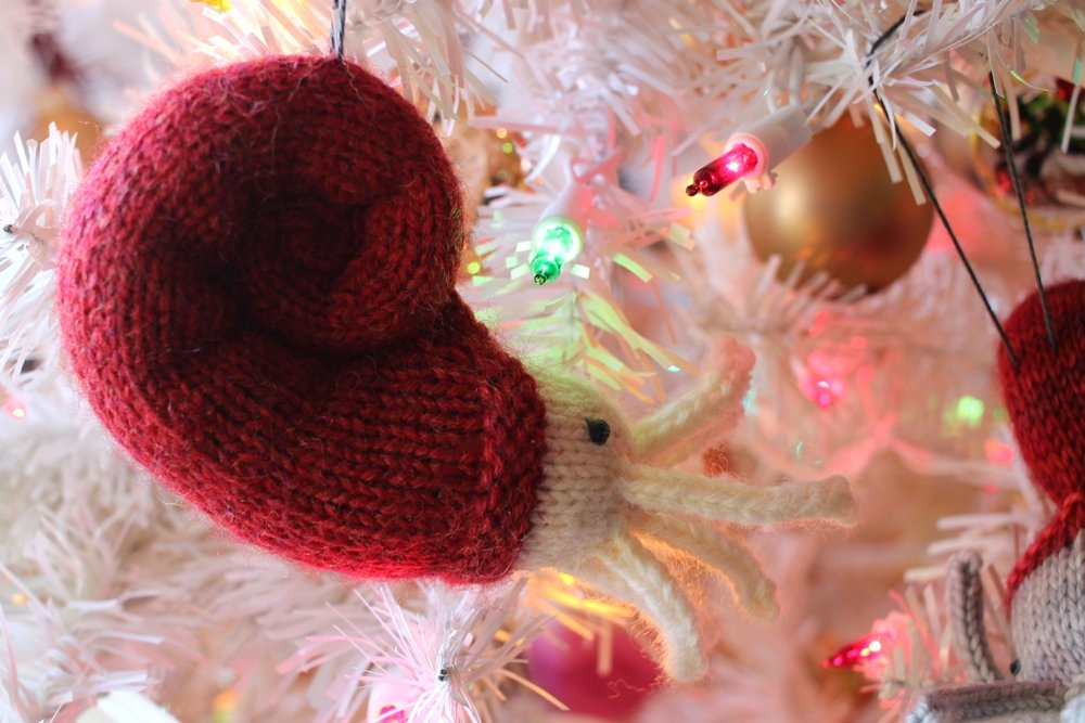 Weird ornaments are the best ornaments. #knitting | withwool.com