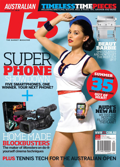 Annette Melton photo T3 Magazine Cover Model