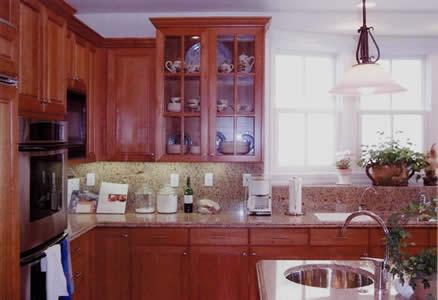 Custom Cabinets | Wood Cabinets | Warm Home