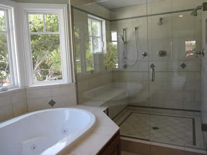 Custom Master Bath | Granite Shower Tiles | Luxury Master Bath
