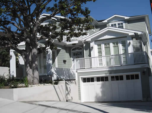 Large Garage | New House | Manhattan Beach Architects | South Bay Home