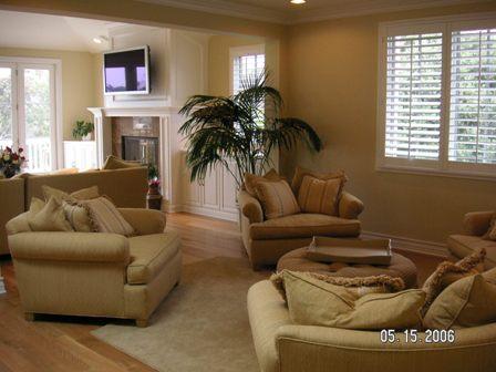Custom Home | Family Room | Tomaro Design Group