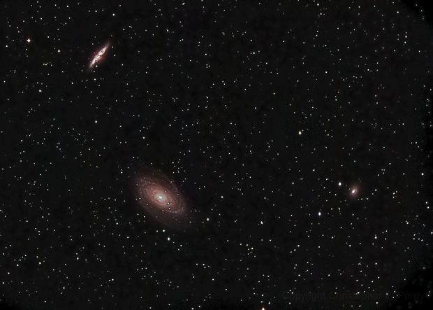 M81 and M82 taken 4-2-13