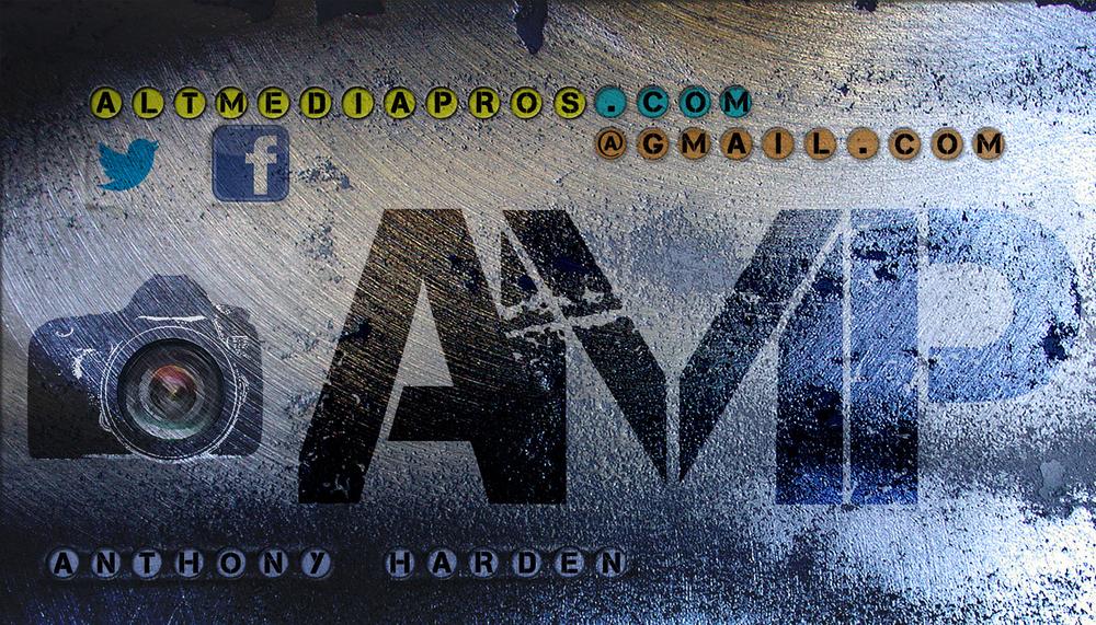 Former AMP Business Card Design Idea