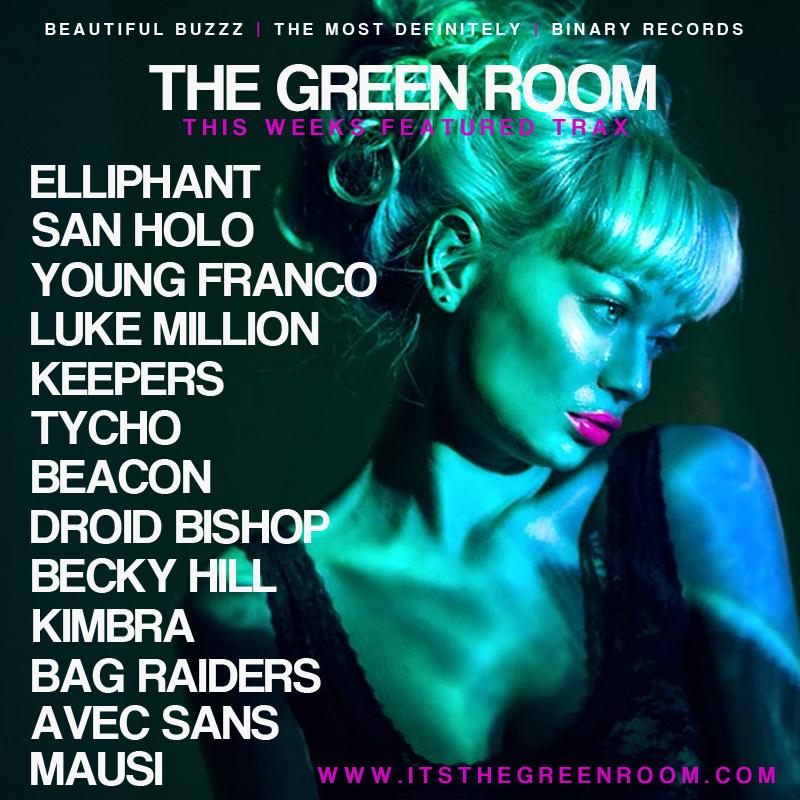 THE GREEN ROOM PLAYLIST - SEPTEMBER 2014