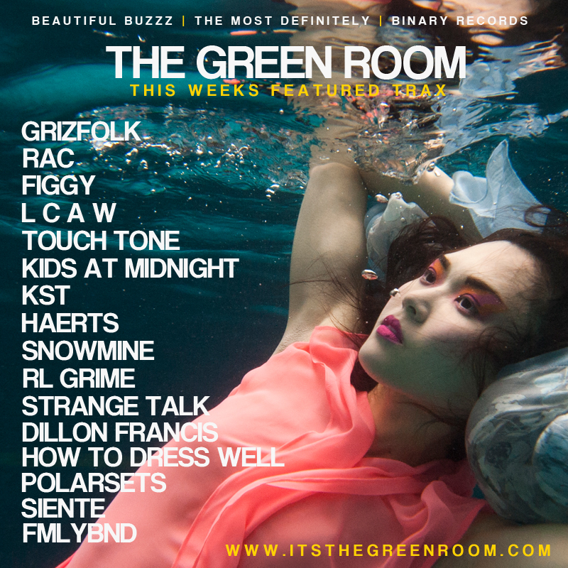 THE GREEN ROOM PLAYLIST - SEPTEMBER 2014