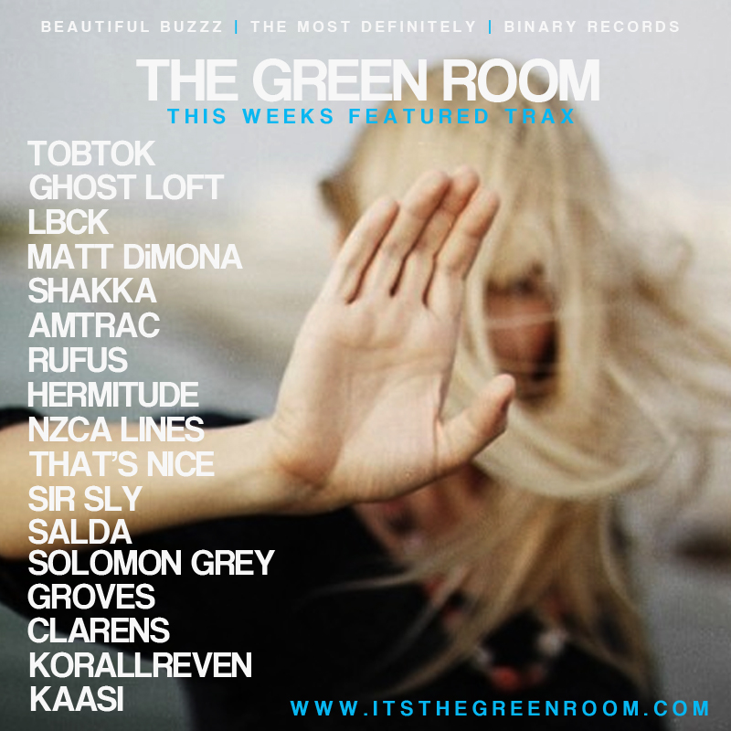 THE GREEN ROOM PLAYLIST - OCTOBER 2014