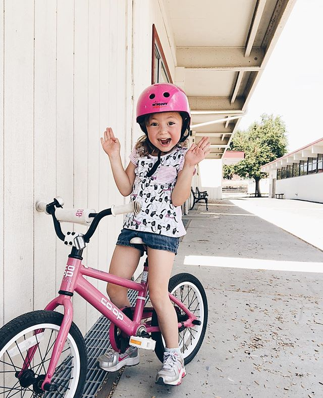 allllll the biking because (we have one car) and it's on her summer bucket list 💞